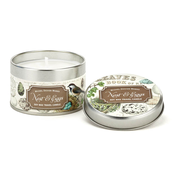 Nest and Eggs Travel Candle