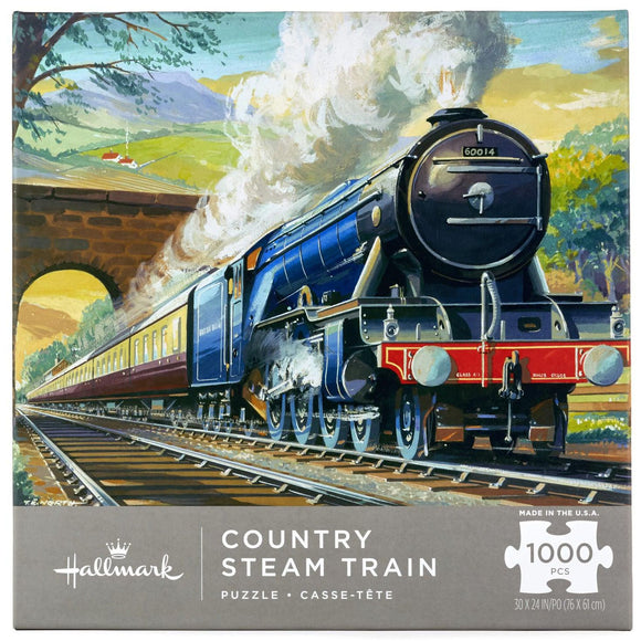 Hallmark Country Steam Train 1000-Piece Puzzle