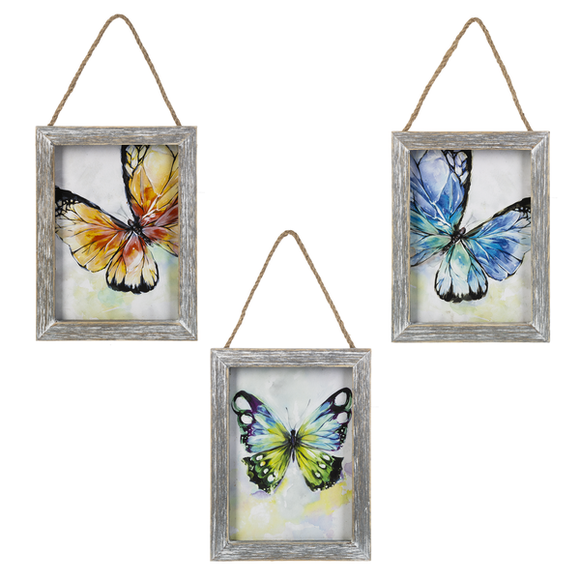 Butterfly Hanging Plaque