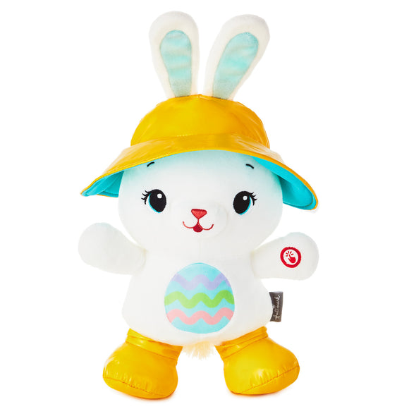 Hallmark Hoppy Day Bunny Musical Stuffed Animal With Motion, 15