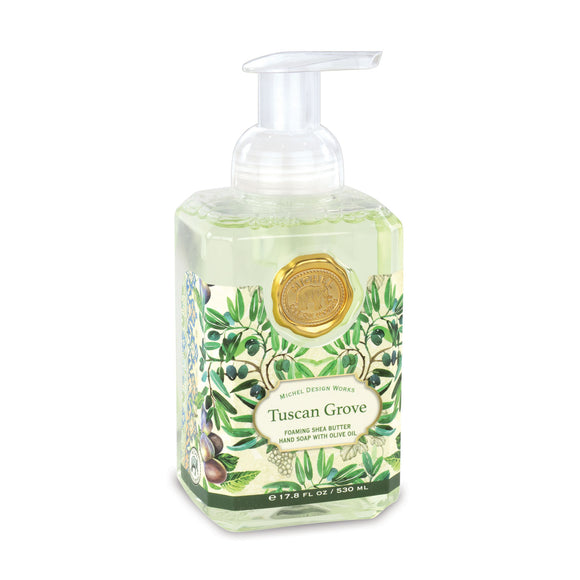 Tuscan Grove Foaming Soap