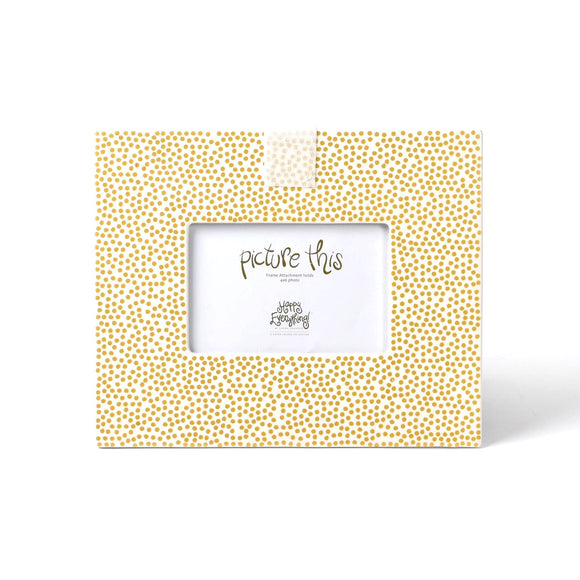 Gold Small Dot Mini Frame