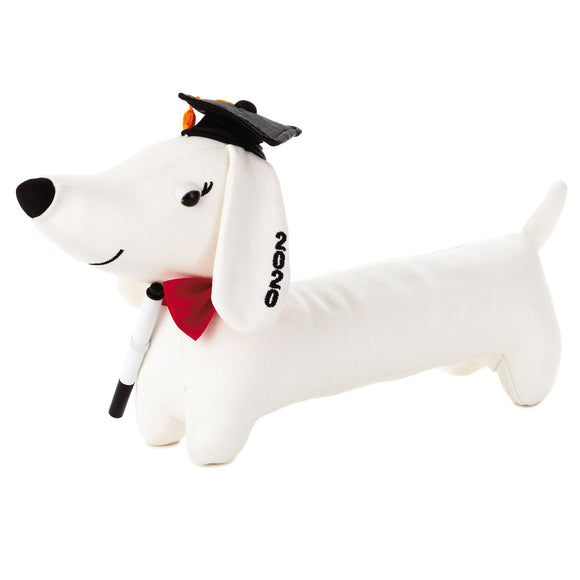 Hallmark 2020 Graduation Autograph Pup Stuffed Animal, 8.25