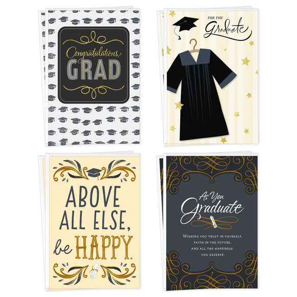 Hallmark Assorted Graduation Day Graduation Cards, Pack of 8