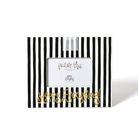 Black Stripe Happy Everything Mini Frame