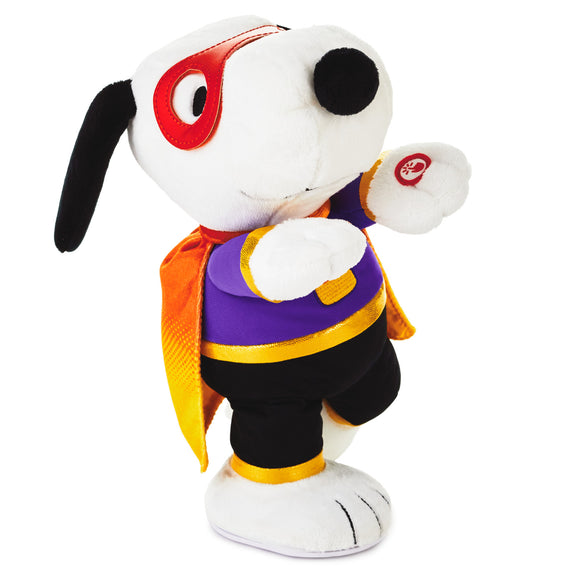 Hallmark Peanuts® Snoopy the Candy Crusader Musical Stuffed Animal With Motion, 11.75