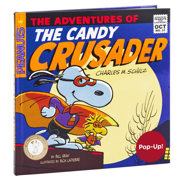 Hallmark Peanuts® The Adventures of the Candy Crusader Pop-Up Book