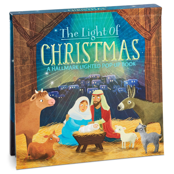 Hallmark The Light of Christmas: A Hallmark Lighted Pop-Up Book