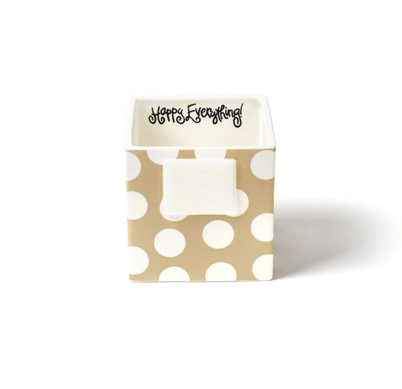 Neutral Dot Mini Nesting Cube Small