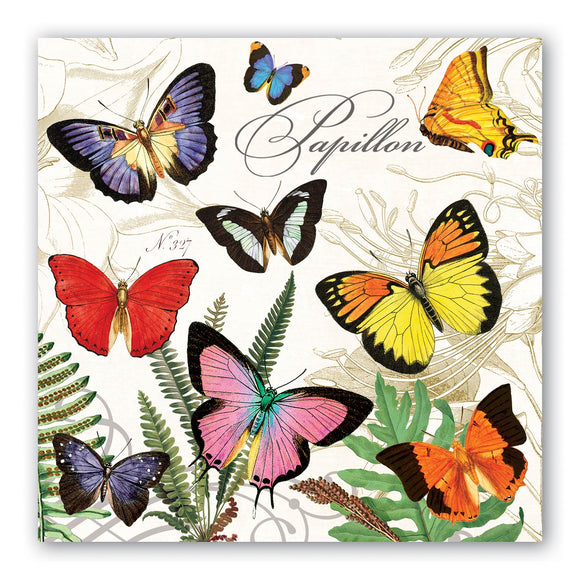 Papillon Luncheon Napkin