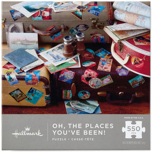 Hallmark Place You've Been 550-Piece Puzzle