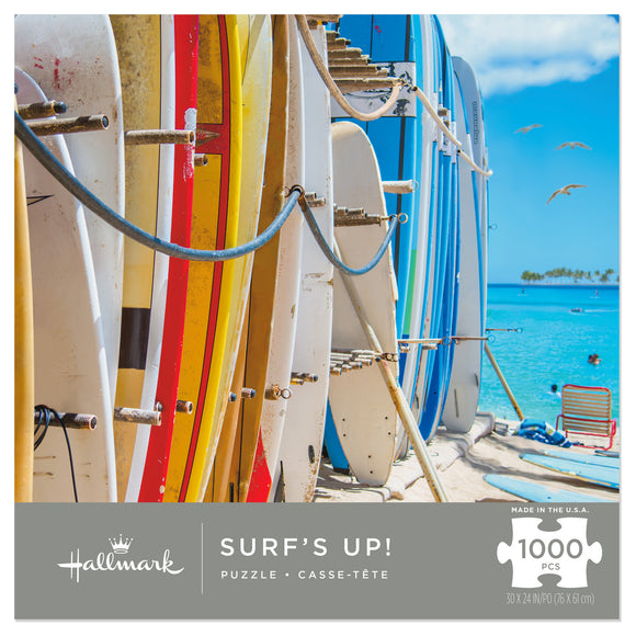 Hallmark Surf's Up 1000-Piece Puzzle