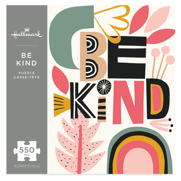 Hallmark Be Kind 550-Piece Puzzle