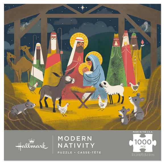 Hallmark Modern Nativity 1,000-Piece Puzzle