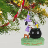 Hallmark The Peanuts® Gang Toil and Trouble Musical Halloween Ornament With Light