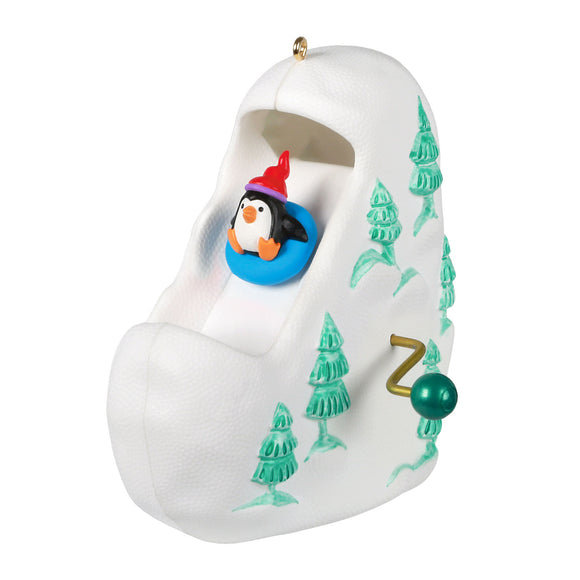 Hallmark Sledding All the Way Ornament With Motion