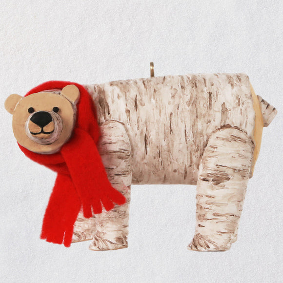 Hallmark Birch Polar Bear Ornament