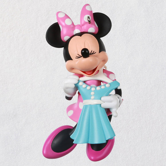 Hallmark Disney Minnie Mouse All Dressed Up Ornament