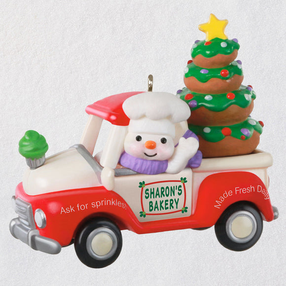 Hallmark Holiday Parade Bakery Truck 2020 Ornament
