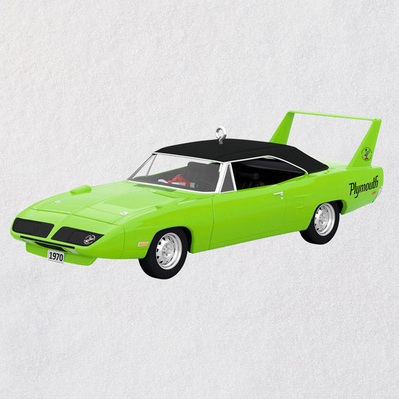 Hallmark 1970 Plymouth Superbird Classic American Cars 2020 Metal Ornament