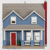 Hallmark Nostalgic Houses and Shops Traditional Clapboard Two-Story 2020 Ornament