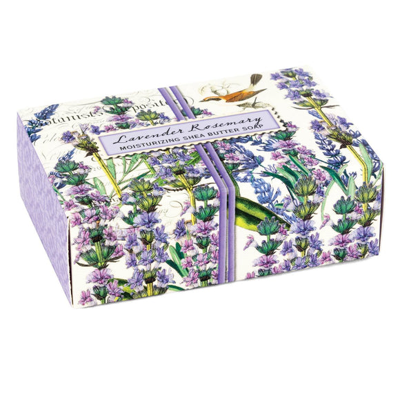 Lavender Rosemary Boxed Soap