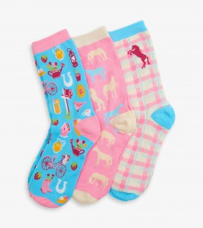 Country Living Women's Crew Sock Set of 3