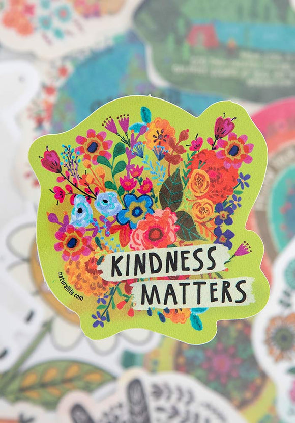 Kindness Matters Vinyl Sticker