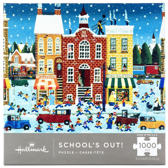 Hallmark School's Out 1000-Piece Puzzle