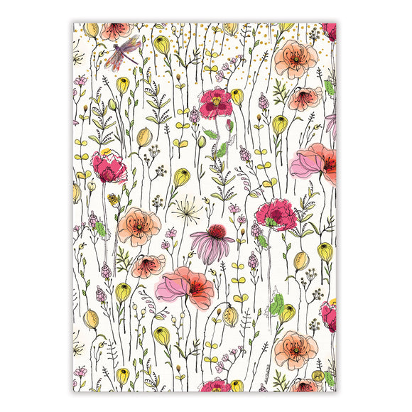 Posies Kitchen Towel