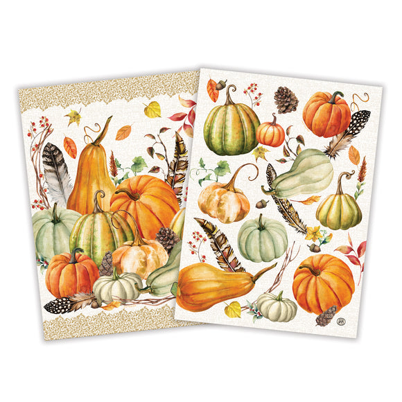 Sweet Pumpkin Kitchen Towel Set of 2