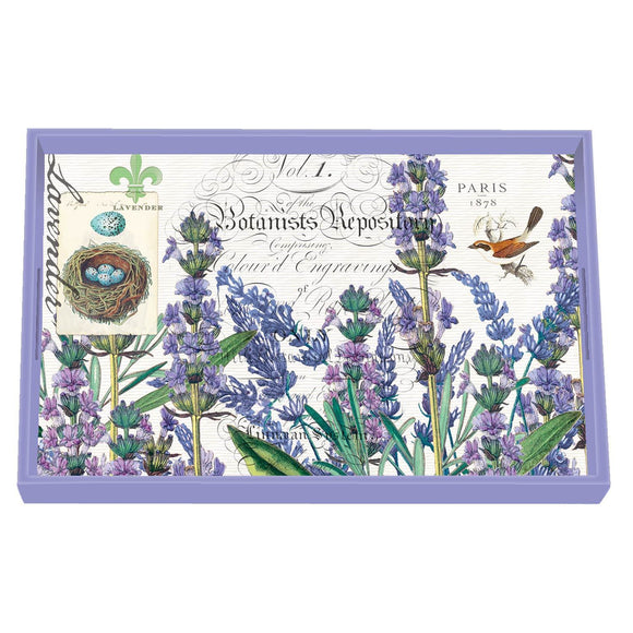 Lavender Rosemary Wooden Tray
