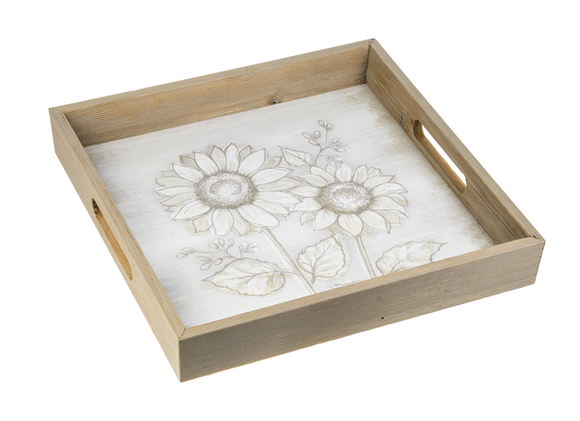 Sunflower Tray