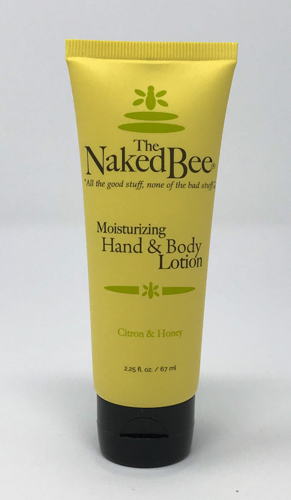 The Naked Bee Citron and Honey Lotion 2.25oz