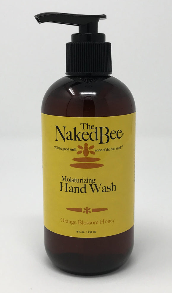 The Naked Bee Orange Blossom Moisturizing Honey Hand Wash 8oz
