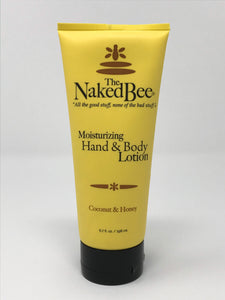 The Naked Bee Coconut and Honey Lotion 6.7oz