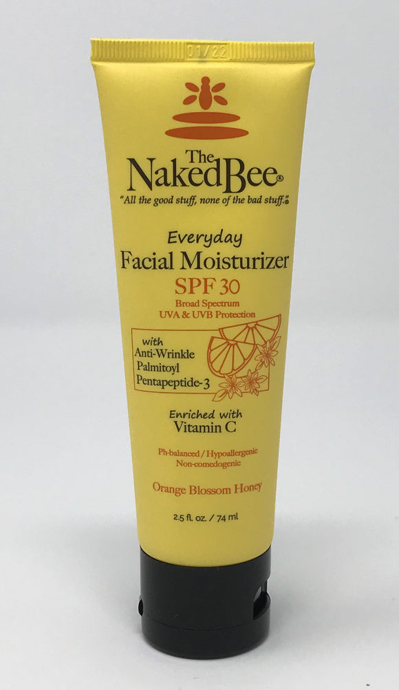 The Naked Bee Everday Facial Moisturizer SPF 30 2.5oz