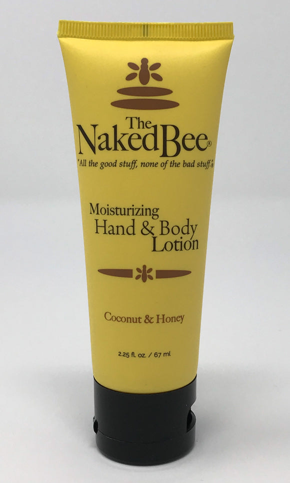 The Naked Bee Coconut and Honey Lotion 2.25oz