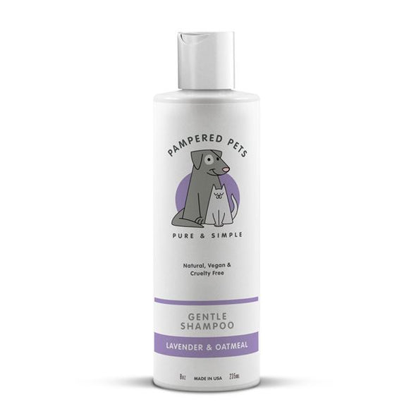 Pampered Pet Shampoo Lavender & Oatmeal