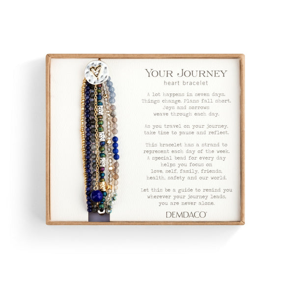 Indigo Your Journey Beaded Love Bracelet