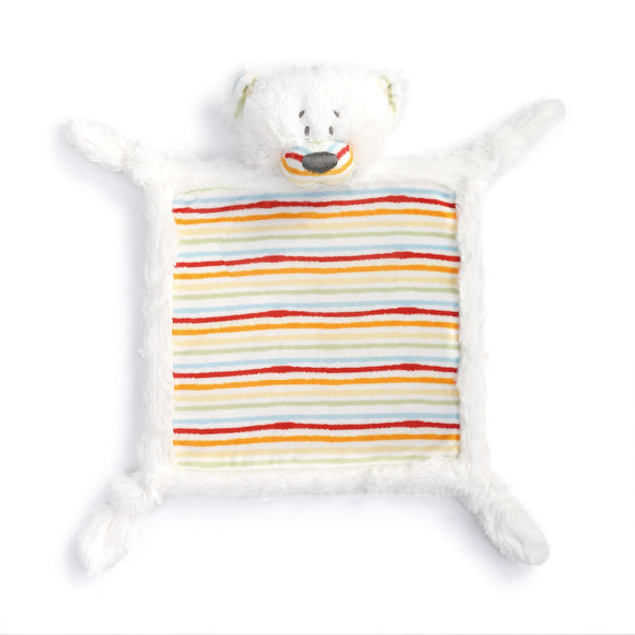 Rainbow Bear Rattle Blankie