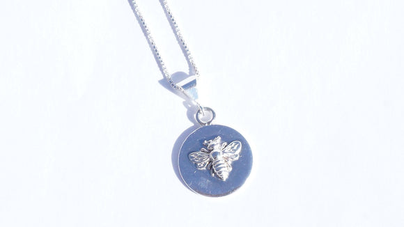 Bee Necklace Large SS