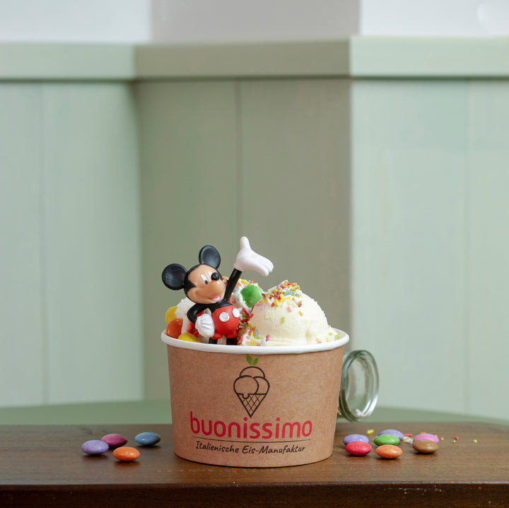 Mickey Mouse Becher - Buonissimo | Italienische Eis-Manufaktur