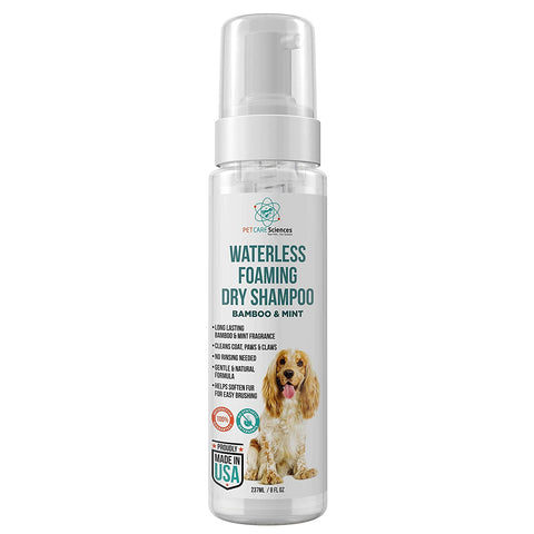 PET CARE Sciences® Waterless Shampoo for Dogs, 8 fl oz