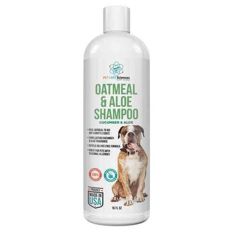 PET CARE Sciences® Dog Oatmeal & Aloe Shampoo