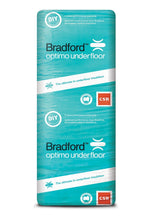 Load image into Gallery viewer, Bradford Optimo Underfloor Insulation Batts - R2.5 - 1160 x 565mm - 5.2m²/pack - Patnicar Insulation