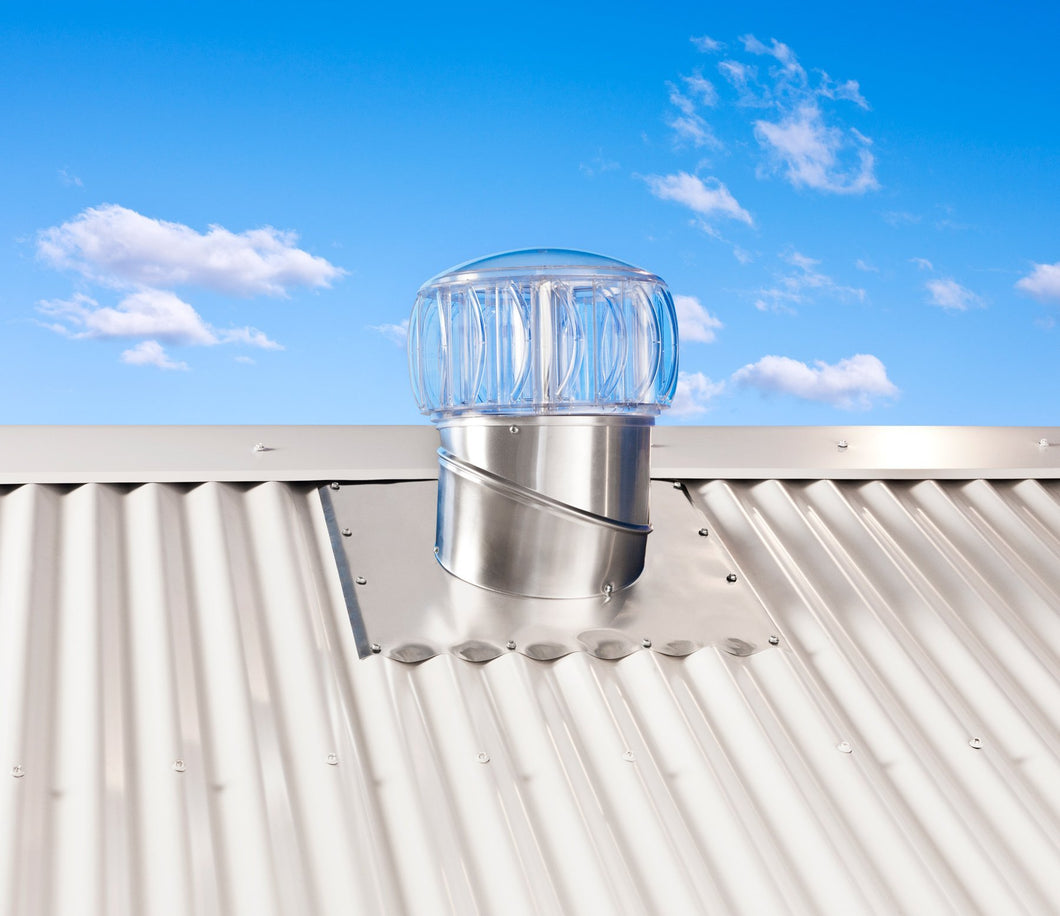 Bradford Ventilation TurboBeam Wind-Driven Roof Vent - Patnicar Insulation