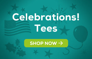 Celebrations! Tees by Shaggy Chic Apparel