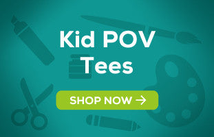 Kid POV Tees by Shaggy Chic Apparel