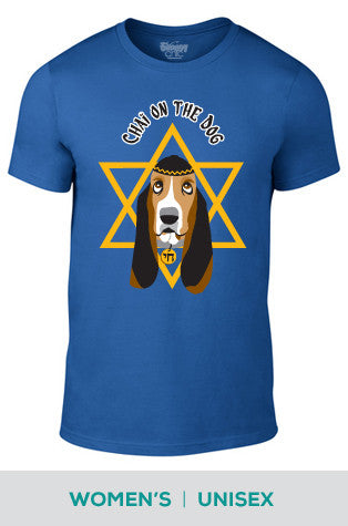Chai on the Dog Cotton T-shirt